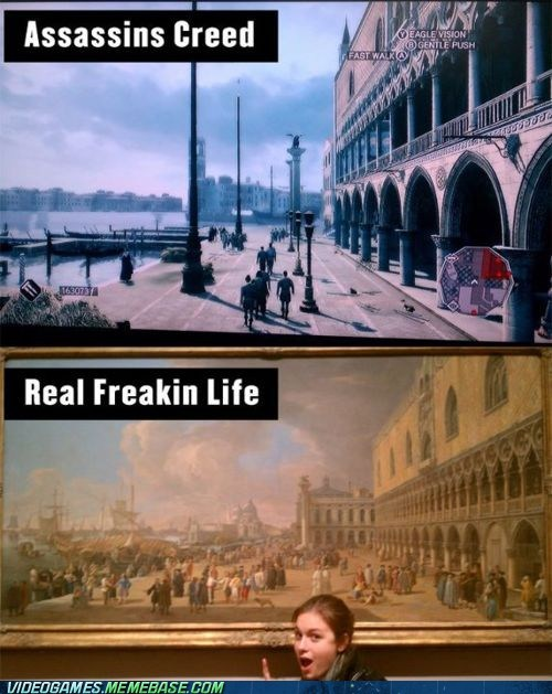 art,assassins creed,history,IRL