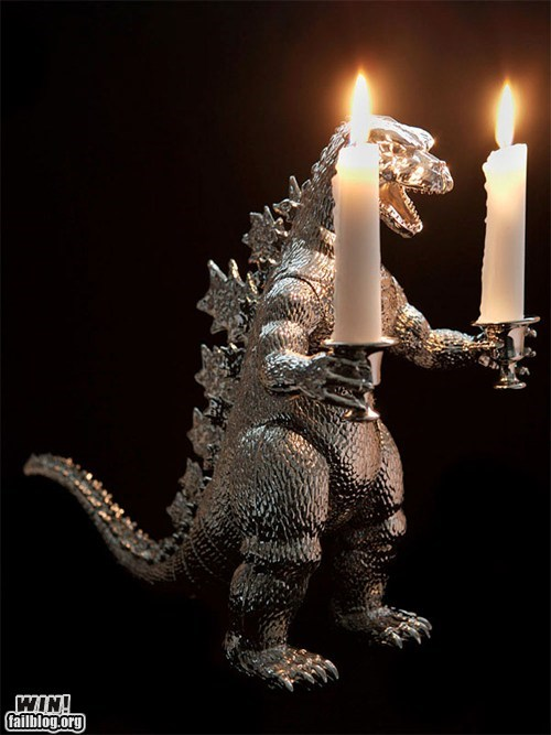 candle,design,godzilla,Hall of Fame,toy,weird,what