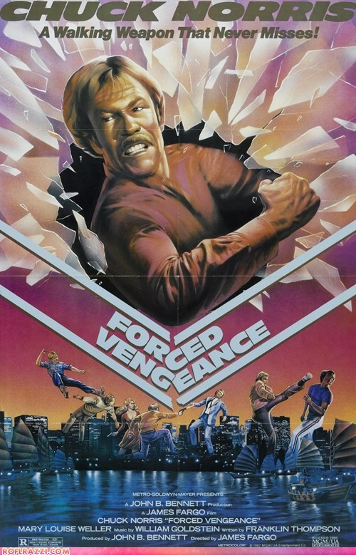 chuck norris,forced vengeance,funny,Movie,trailers,Video,worst films of all time