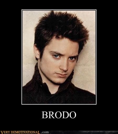 bro elijah wood frodo hilarious - 5977375744