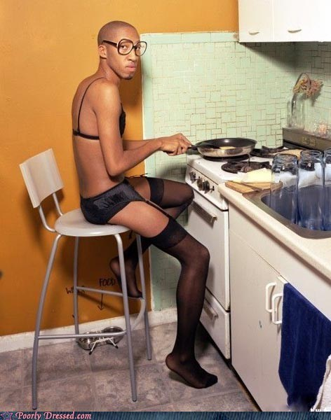 cooking Jaleel White lingerie odd urkel weird - 5977617664