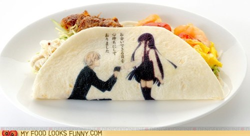 art,drawing,japanese,marriage,proposal,taco