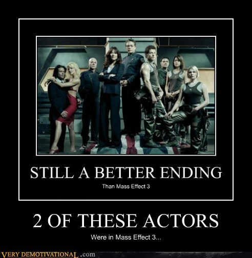 actors,BSG,hilarious,ME3,video games