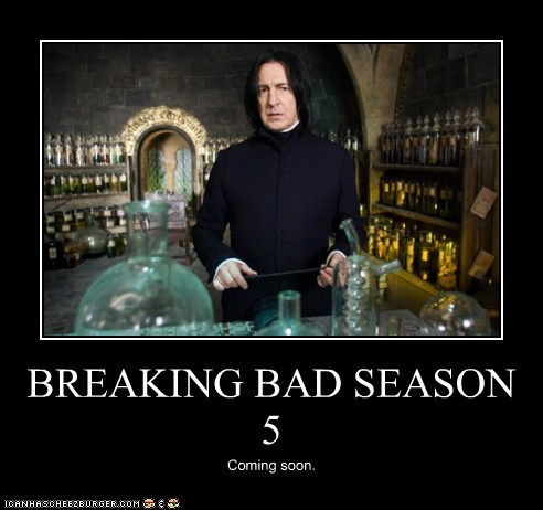 Alan Rickman breaking bad Harry Potter meth potions Severus Snape SOON - 5978670080