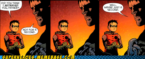batman damian robin Straight off the Page trust - 5979646464
