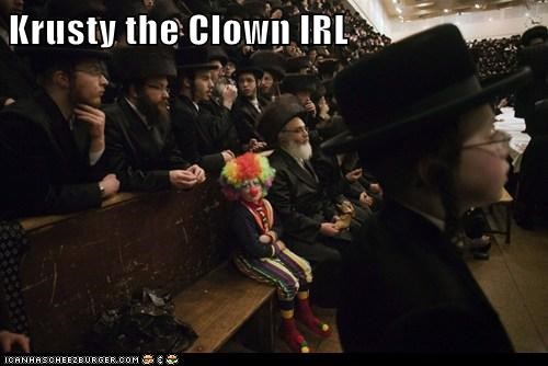 clowns judaisim political pictures the simpsons - 5979964416