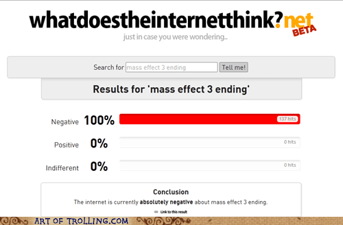 mass effect,video games,what does the internet think