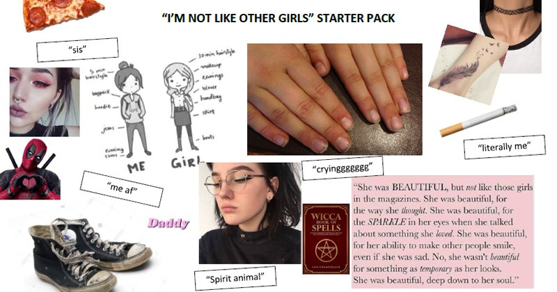 specific starter packs