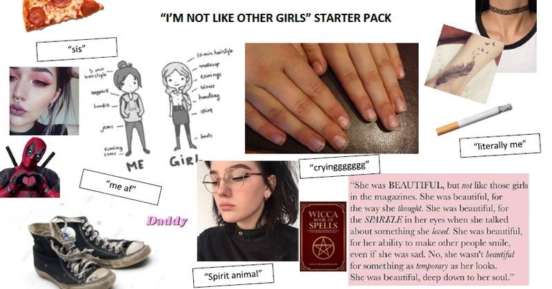 specific starter packs