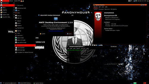 anonymous anonymous-os hackers linux operating system - 5980515072