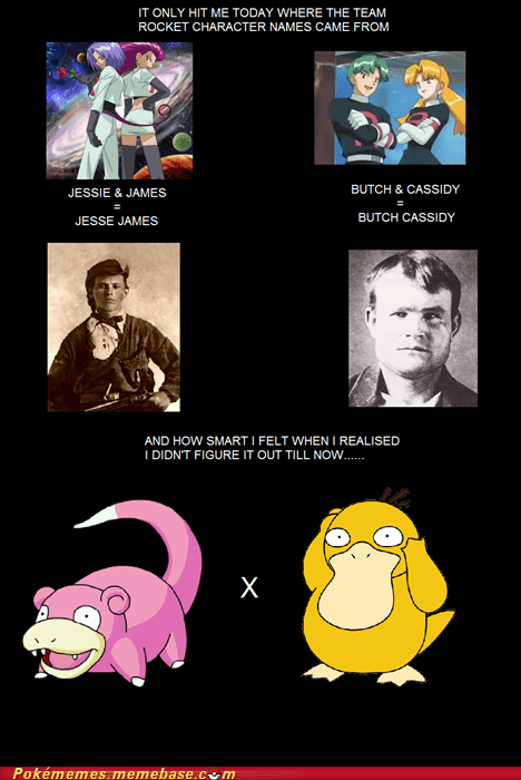best of week,Memes,mind blown a little late,names,Psyduck,slowpoke,Team Rocket
