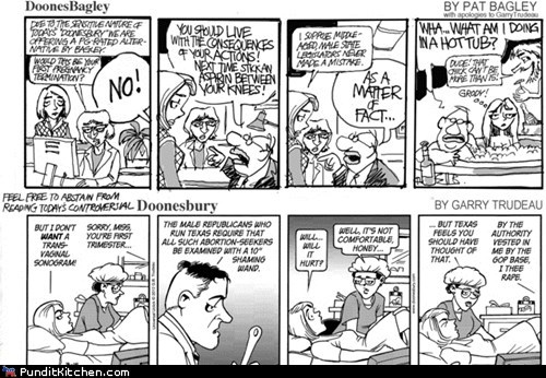 abortion comics political pictures Republicans womens rights - 5980594176