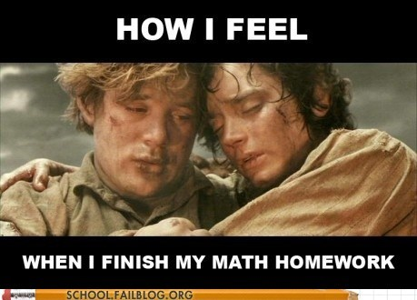 finishing homework,frodo,Lord of the Rings,mt doom,Sam