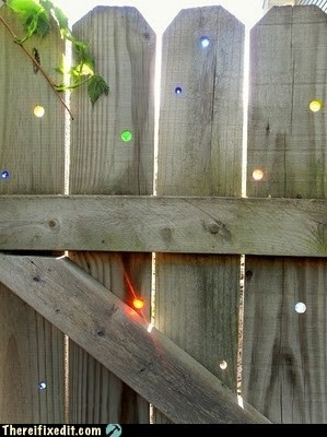 fence lights - 5980651008