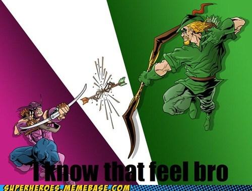 arrows green arrow hawkeye Super-Lols - 5980710656