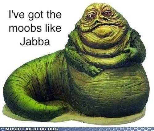 jabba the hutt maroon 5 moobs moves like jaggar star wars - 5980733952