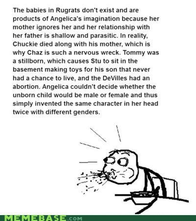 cereal guy meme madness repost rugrats - 5980763392