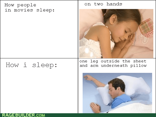 IRL movies Rage Comics sleeping - 5980824576
