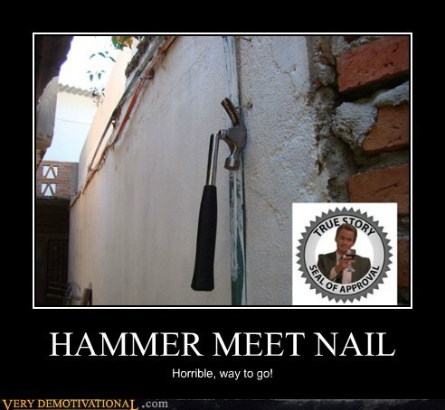 dr horrible hammer hilarious how i met your mother nail - 5980868096