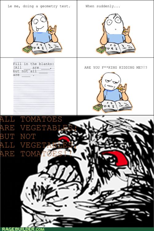 Rage Comics raisin rage test truancy story - 5980897792