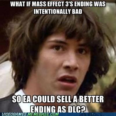conspiracy keanu DLC ending mass effect mass effect 3 spoilers - 5980990720