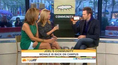 community,Hoda,joel mchale,Kathie Lee,the soup,the today show,TV