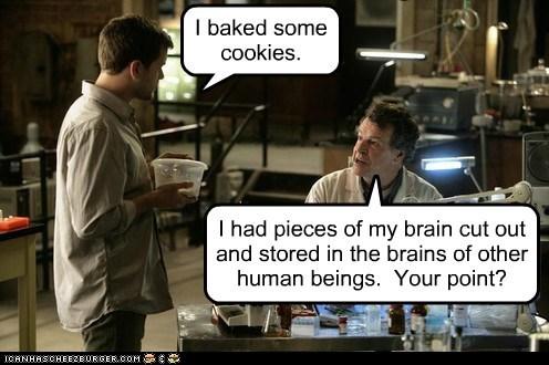 brain cookies Fringe John Noble joshua jackson peter bishop Walter Bishop - 5981159424