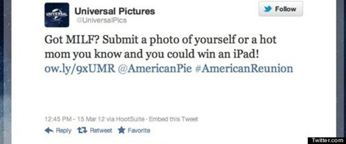 american pie,american pie reunion,celeb,milf,twitter,Universal Pictures