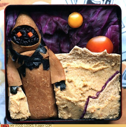 art bento cabbage hummus jawa pita star wars suns tatooine - 5981446400