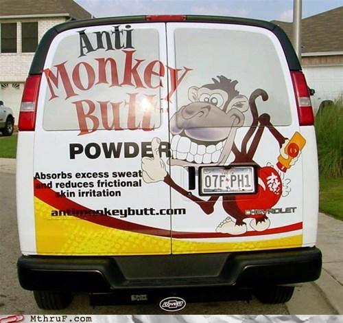 anti monkey butt powder monkey butt powder van weird products - 5981492224