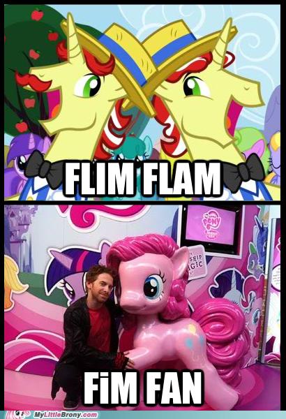 flim flam friendship is magic meme pinkie pie seth green - 5981616640