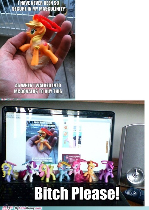 McDonald's my little brony toys - 5981682176