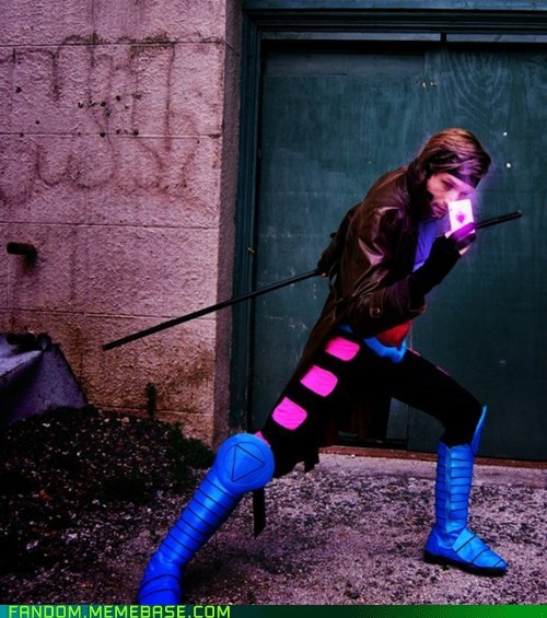 cartoons comics cosplay gambit movies xmen - 5981706240