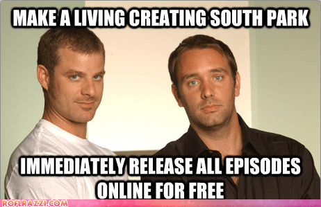 celeb,funny,good guy,Matt Stone,meme,South Park,trey parker,TV