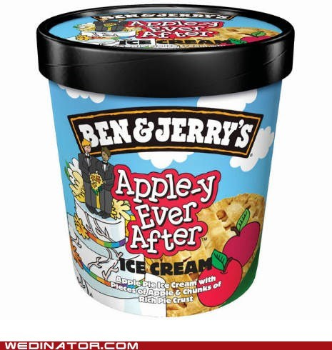 ben-jerrys funny wedding photos gay marriage Hall of Fame ice cream - 5981927680
