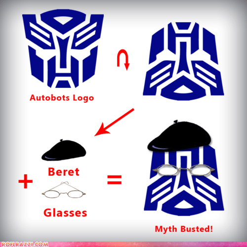 autobots funny myth busters transformers - 5981943808