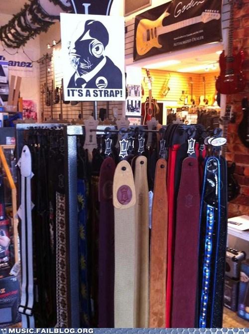 admiral ackbar guitar its a trap pun star wars store strap - 5981965312