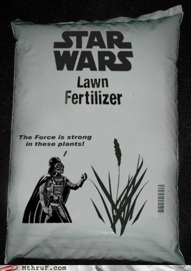 darth vader lawn fertilizer star wars - 5982055680