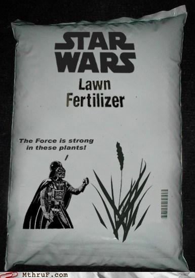 darth vader lawn fertilizer star wars - 5982055680