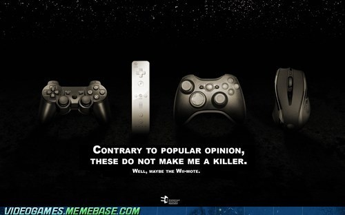 controllers,guns,PC,playstation,psa,the internets,video games,wiimote,xbox