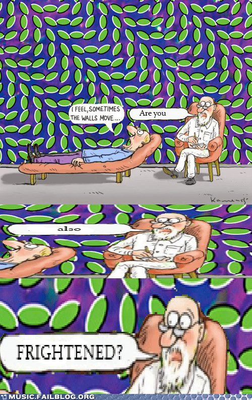 animal collective moving optical illusion psychiatrist walls - 5982187520