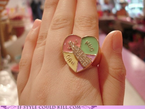 cool accessories ring of the day rings spin the bottle - 5982488576