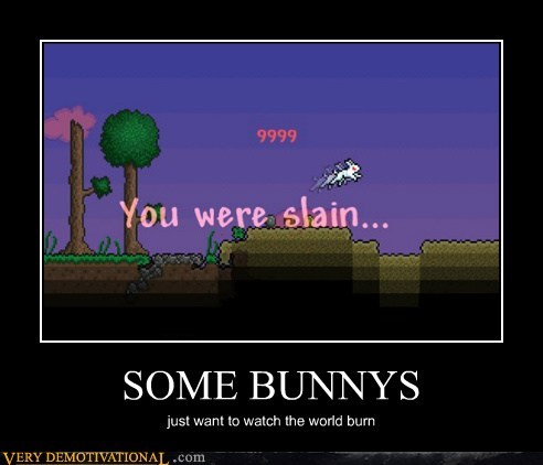 bunnies hilarious monty python video games wtf - 5982680320