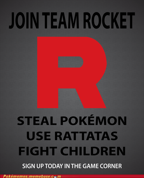 art poster rattata Team Rocket - 5982708992