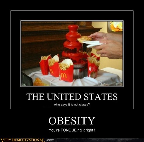 OBESITY You're FONDUEing it right !