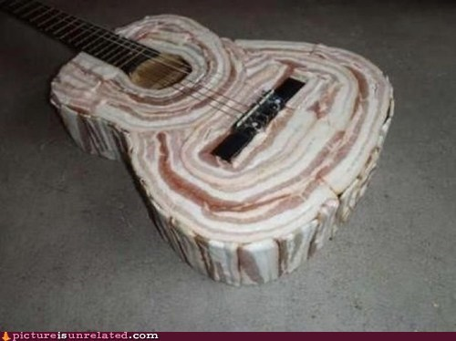 bacon,best of week,delicious,guitar,sound,wtf