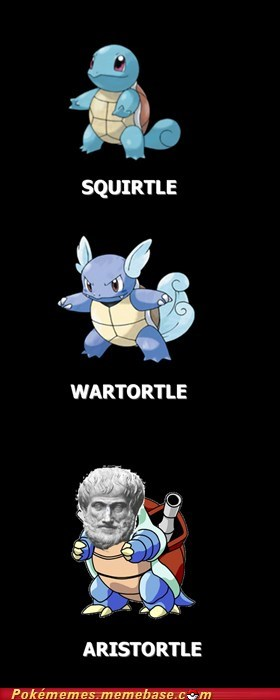 Aristotle best of week blastoise evolution Evolve wartortle - 5983758080