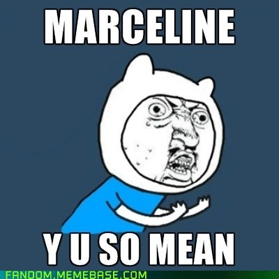 adventure time cartoons It Came From the Interwebz marceline the vampire queen Y U No Guy - 5984132352