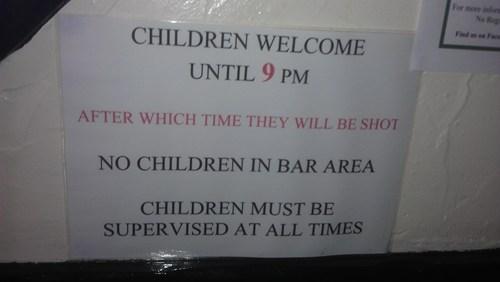 alcohol bar children drinking - 5984577792