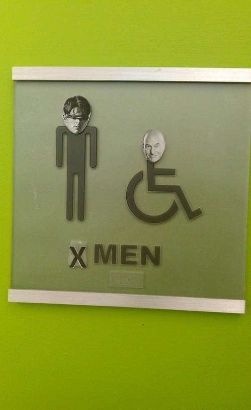 bathrooms,x men